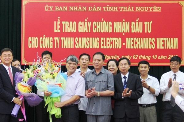 Thủ Tục Điều Chỉnh Giấy Chứng Nhận đầu Tư Tại Thái Nguyên