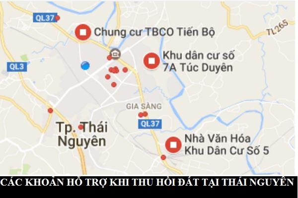 Các Khoản Hỗ Trợ Khi Nhà Nước Thu Hồi đất Tại Thái Nguyên