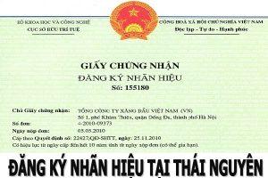 đăng ký nhãn hiệu tại Thái Nguyên