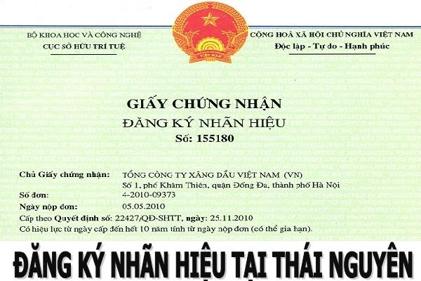 Quy Trình – Thủ Tục Đăng Ký Nhãn Hiệu Tại Thái Nguyên