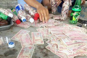 xử phạt hành vi dùng tiền lẻ