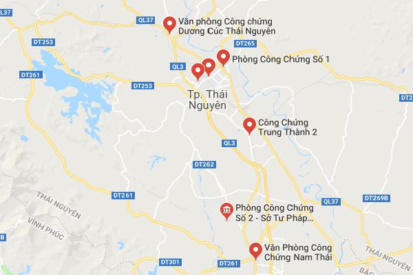 Văn Phòng Công Chứng Tại Thái Nguyên